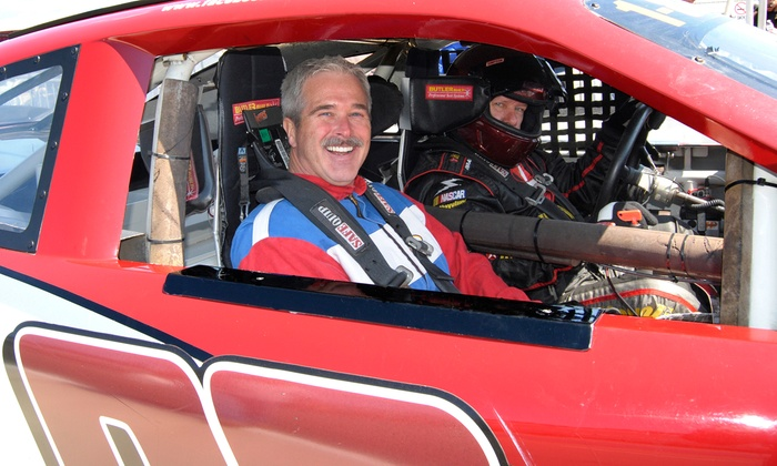 StockCar Racing Experience - StockCar Racing Experience: Three- or Six-Lap Ride-Along at StockCar Racing Experience (Up to 29% Off). Four Options Available.