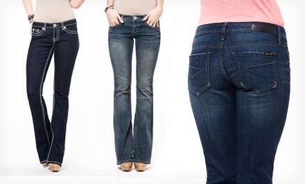 Seven7 Women's Flare and Boot-Cut Jeans