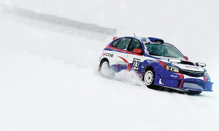 Winter Rally Driving Experience at iCar Mirabel - Ottawa (Up to 50% Off). Three Options Available.