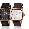 Adee Kaye Men's Tonneau Shape Quartz Watch