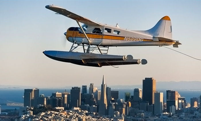 Seaplane Adventures - Seaplane Adventures (San Francisco Seaplane Tours): $144 for a 30-Minute Golden Gate Bridge Seaplane Tour for One at Seaplane Adventures ($185 Value)