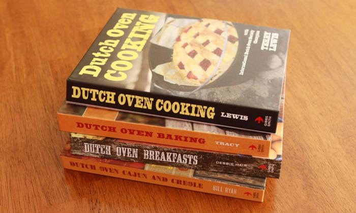 Dutch Oven 4-Cookbook Bundle: Dutch Oven 4-Cookbook Bundle. Free Shipping.