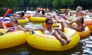 RentMyPartyBus, Inc.: River-Tubing Trip with Party-Bus Transportation from RentMyPartyBus, Inc. (Up to 55% Off)
