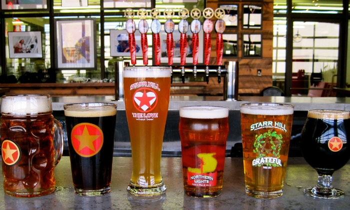 Starr Hill Brewery - Crozet: Brewery Tour and Tasting Package for Two or Four at Starr Hill Brewery (Up to 46% Off)