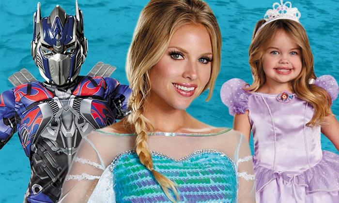 CostumeSupercentre.ca: C$20 for C$40 Towards Halloween Costumes, Decorations, and Accessories at CostumeSupercentre.ca