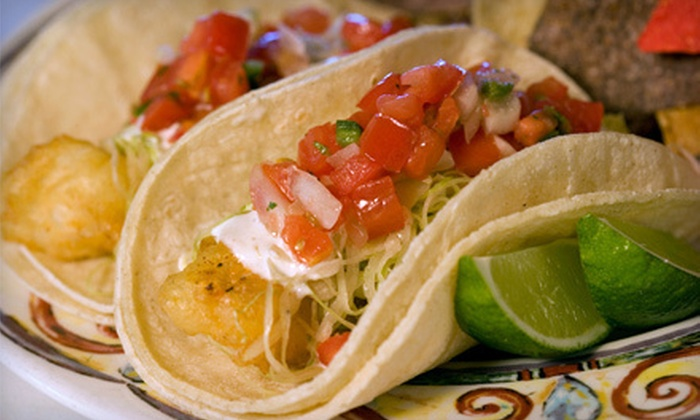 Mexico On The Square - Center City,South Street,Avenue Of The Arts - South: $20 Worth of Mexican Food