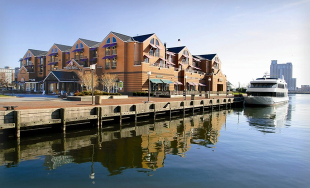 Pier 5 Hotel - Baltimore, MD: Stay with Daily Breakfast for Two and One Bottle of Wine at Pier 5 Hotel in Baltimore, MD. Dates into November.