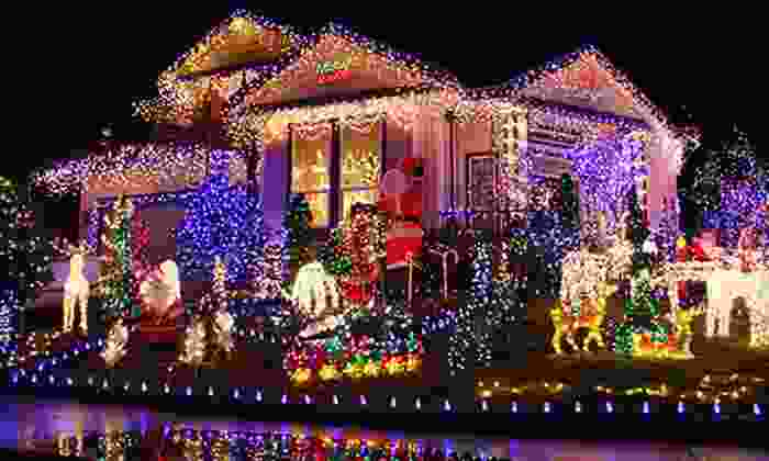 Handy Pete's - Excelsior: Christmas-Lights Hanging for a One- or Two-Story Building from Handy Pete's (Up to 67% Off)