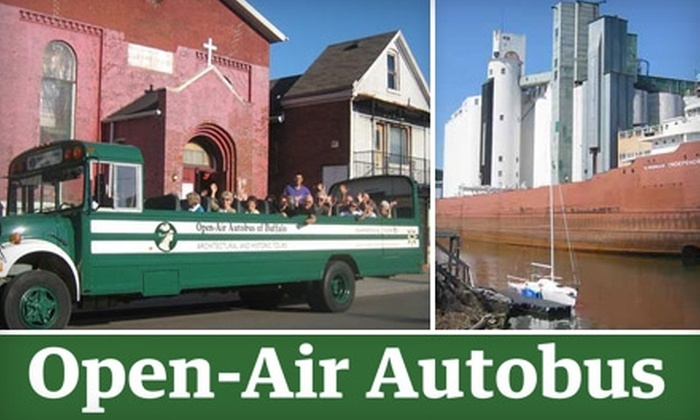 Open-Air Autobus of Buffalo - Forest: $10 for a Historic Architecture Tour from Open-Air Autobus of Buffalo ($20 Value)