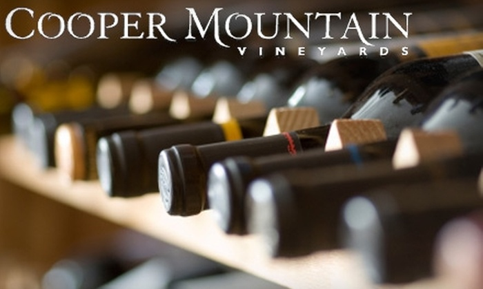 Cooper Mountain Vineyards - Cooper Mountain - Aloha South: $10 Admission and Wine Flight at Cooper Mountain Vineyards Thanksgiving Event ($20 Value)