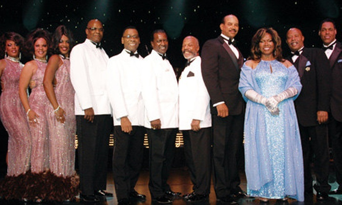 The Platters, Cornell Gunter's Coasters and The Marvelettes Live in Concert - The Strip: One GA or VIP Ticket to The Platters, Cornell Gunter's Coasters, and The Marvelettes at Crown Theater (Up to 60% Off)