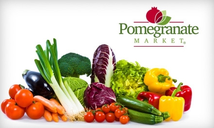Pomegranate Market - Sioux Falls: $12 for $25 Worth of Natural and Organic Groceries at Pomegranate Market