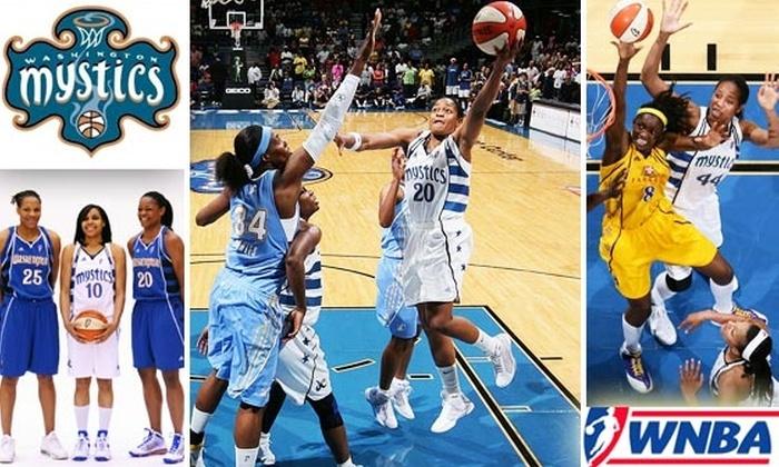 Washington Mystics - Washington DC: More Than Half Off Washington Mystics Tickets