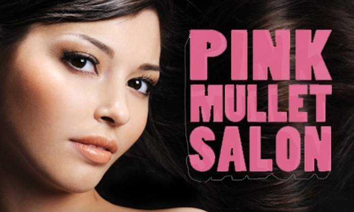 Pink Mullet Salon - Franklin: $49 for a Cut and Color at Pink Mullet Salon ($120 Value)