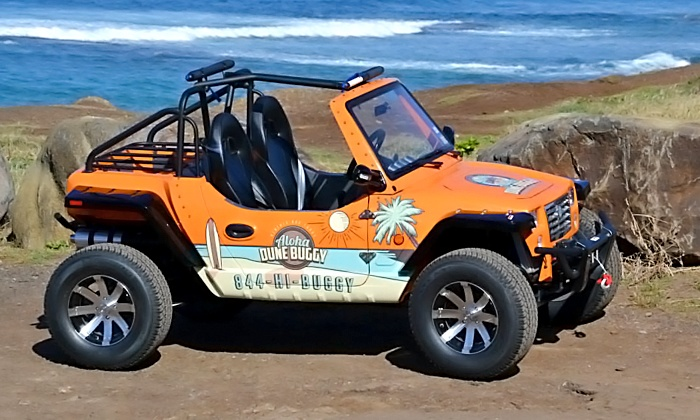 Aloha Dune Buggy - North Shore: Two- or Four-Hour Dune-Buggy Rental from Aloha Dune Buggy (Up to 55% Off)