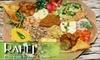 Rahel Ethiopian Veggie Cuisine - Mid-Wilshire: $14 for $30 Worth of Vegetarian and Vegan Fare at Rahel Ethiopian Veggie Cuisine