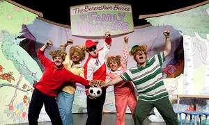 """""""Berenstain Bears"""": """"Berenstain Bears"""" Live Show at Bergen Performing Arts Center on May 3 (Up to 49% Off)"""