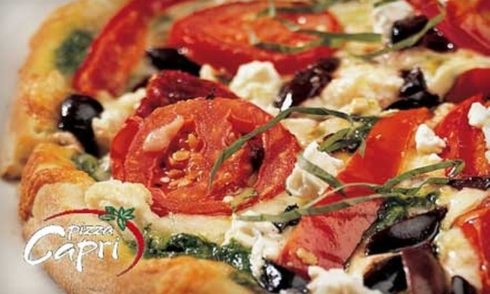 Pizza Capri - Lincoln Park: $10 for $20 Worth of Pies and More at Pizza Capri in Lincoln Park