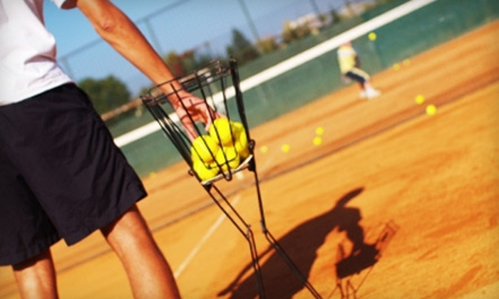 Rhythm Tennis - Multiple Locations: Two Hours of Tennis Instruction or 10 Lessons at Rhythm Tennis