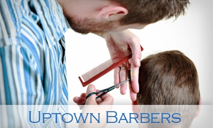 Uptown Barbers - Symmes: $20 for One Month of Unlimited Haircuts at Uptown Barbers