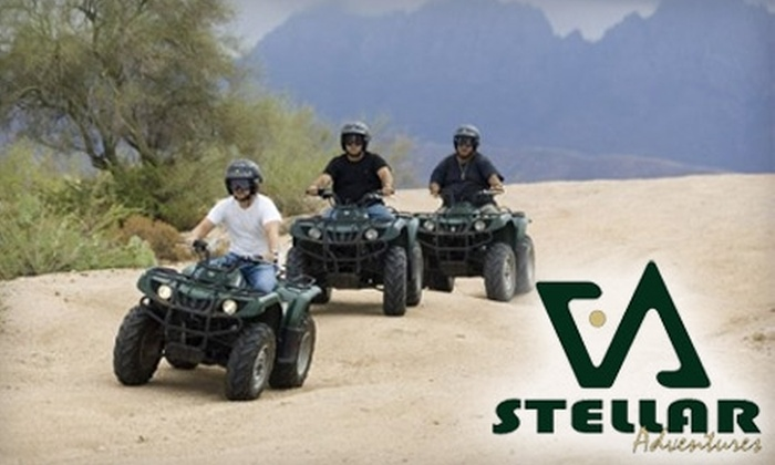 Stellar Adventures - Tonto: $75 for a Guided ATV Tour from Stellar Adventures ($165 Value)