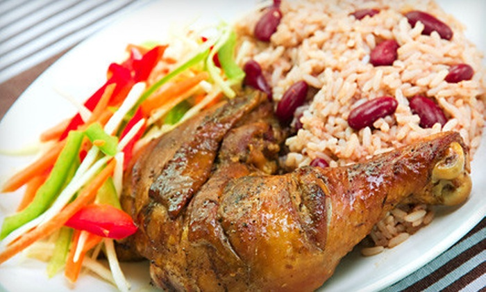Jamaica Gates Caribbean Cuisine - West Arlington: Three-Course Dinner for Two or $7 for $14 Worth of Lunch at Jamaica Gates Caribbean Cuisine in Arlington