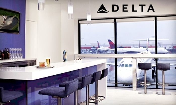 Delta Sky Club - Multiple Locations: One or Five Visits to Delta Sky Club (Up to 64% Off)