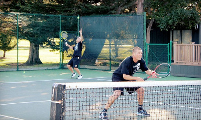 Monterey Bay Racquet Club - Oak Grove: 5 or 10 90-Minute Tennis Sessions for Two at Monterey Bay Racquet Club (Up to 59% Off)