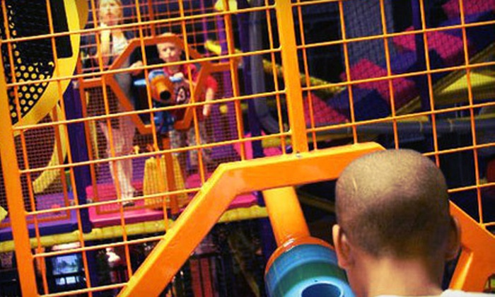 The Works at Wyomissing - Wyomissing: Family Fun Center Visit for Two or Four with Gaming Credits at The Works at Wyomissing (Up to 62% Off)