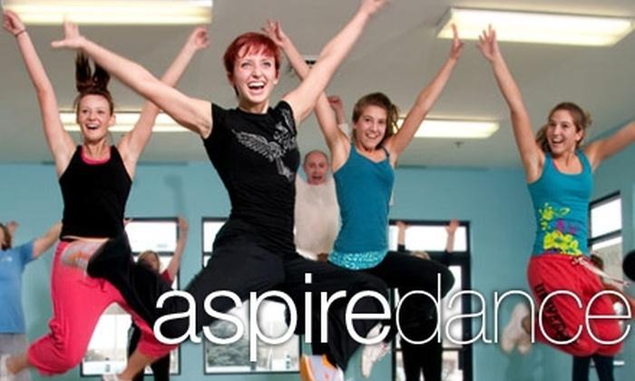 Aspire Dance Studio - Milwaukee: $20 for Five 50-Minute Zumba Classes at Aspire Dance Studio ($65 Value)