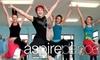 Aspire Dance Studio - Pewaukee - Waukesha: $20 for Five 50-Minute Zumba Classes at Aspire Dance Studio ($65 Value)