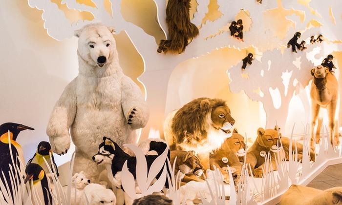 Steiff Museum - Steiff Museum: Tageskarten für 2 oder 4 Pers. oder Familienticket für das Steiff Museum in Giengen an der Brenz (bis zu 53% sparen*)