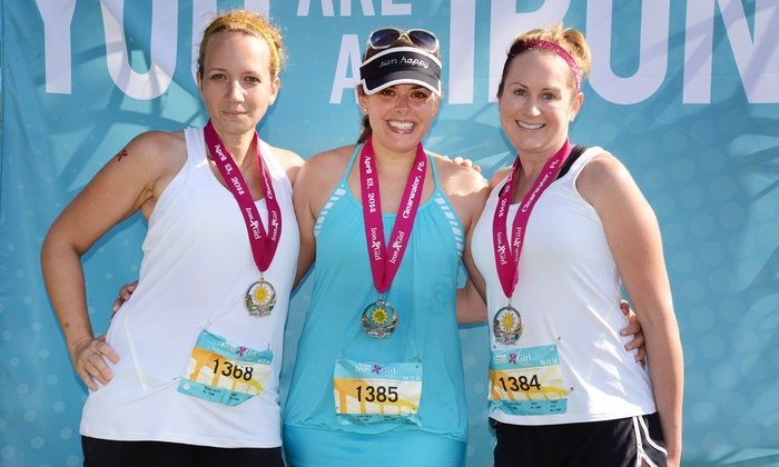 Verizon Iron Girl Clearwater - Verizon Iron Girl Clearwater event at Coachman Park: Wellness Weekend Package with Optional Half Marathon for Verizon Iron Girl Clearwater on April 11–12 (30% Off)