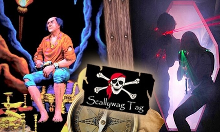 Scallywag Tag - Multiple Locations: $7 for Three Games of Laser Tag at Scallywag Tag ($17 Value)
