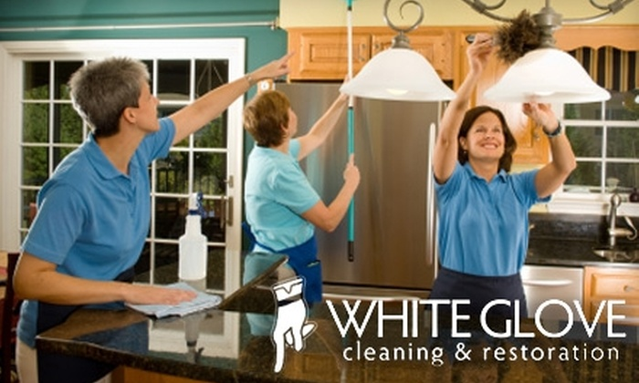 White Glove Cleaning Service - Summit Hill: $59 for Three Hours of House Cleaning from White Glove Cleaning Service ($135 Value)