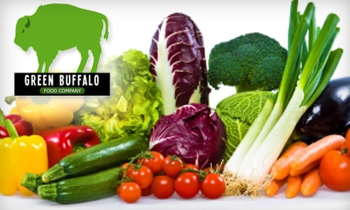 Green Buffalo Food Company: $11 for The Mini Box (Up to $23.99 Value) or $16 for a Fresh Front Range Box ($33.99 Value) of Organic Produce, Delivered From Green Buffalo Food Company