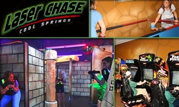 Laser Chase - Franklin: $10 for Four Games of Laser Tag at Laser Chase in Franklin (a $24 Value)