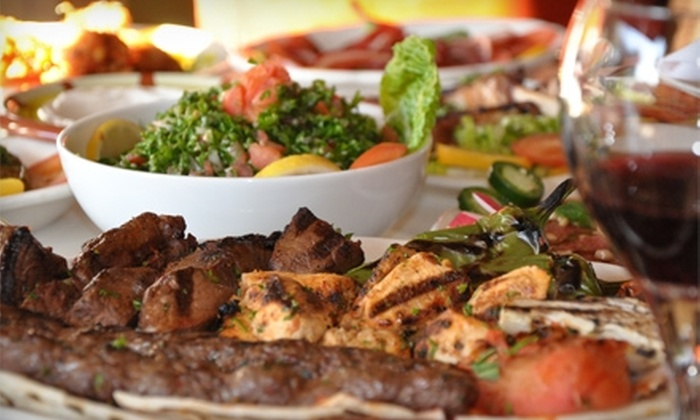 The Gate to the Mediterranean - Encino: $38 for a Fixed-Price Mediterranean Dinner and Entertainment for Two on Fridays at The Gate to the Mediterranean in Encino ($76 Value)