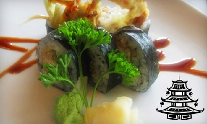 Sushi House - Lawrence: $10 for $20 Worth of Sushi, Sake, and More at Sushi House