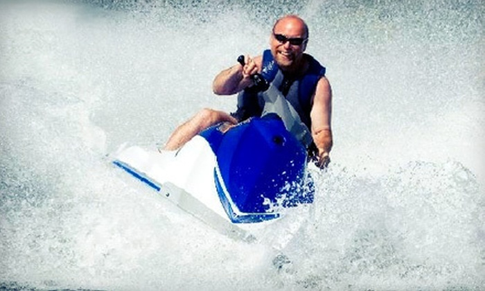 Xscape Water Sports - Bay View: $55 for a 30-Minute Jet-Ski Ride for Up to Two at Xscape Water Sports ($110 Value)