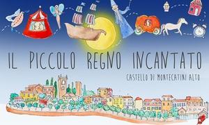Il Piccolo Regno Incantato: Ingressi adulti e bambini al parco il Piccolo Regno Incantato nella città del natale di Montecatini (sconto fino a 43%)