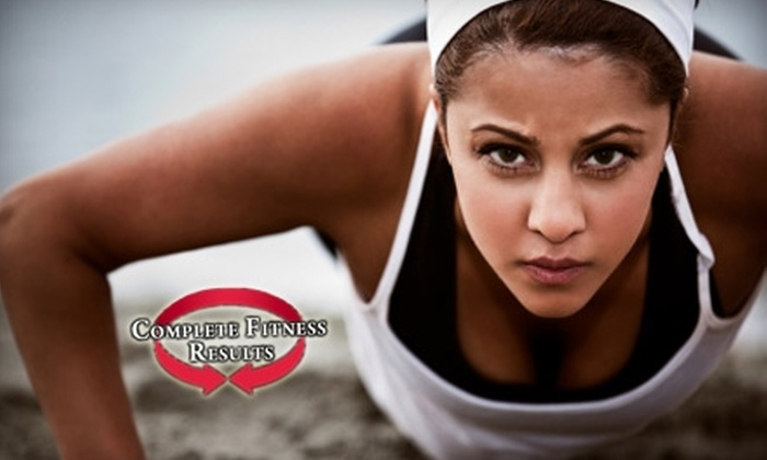 Complete Fitness - Brentwood: $30 for 10 Drop-In Boot Camps at Complete Fitness Results in Brentwood