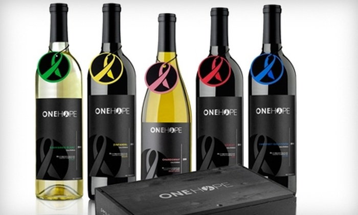 OneHope Wine: $45 for $100 Worth of Wine Online from OneHope Wine