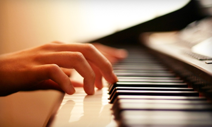 Brookside Guitars - Morningside: Two or Four Private Piano Lessons at Brookside Guitars