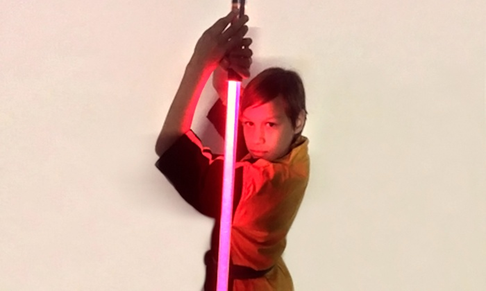 WorldFederationOfEliteMartialArts.com - Multiple Locations: Light-Saber Training with Light Saber Included for 1 or 2 at WorldFederationOfEliteMartialArts.com (Up to 50% Off)