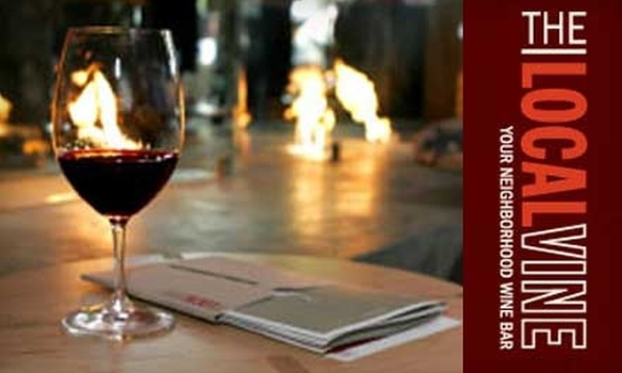 The Local Vine - First Hill: $25 for One Wine-Tasting Class or Event at The Local Vine (Up to $55 Value)