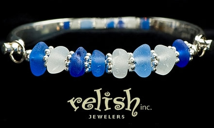 Relish, Inc. Jewelers - Millcreek: $15 for $30 Worth of Beach-Glass Jewelry at Relish Inc. Jewelers