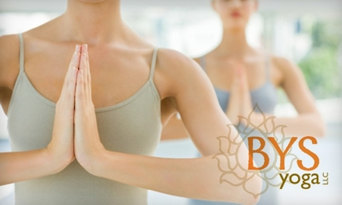 BYS Yoga - Southside Flats: $35 for an Eight-Class Pass at BYS Yoga (Up to an $80 Value)