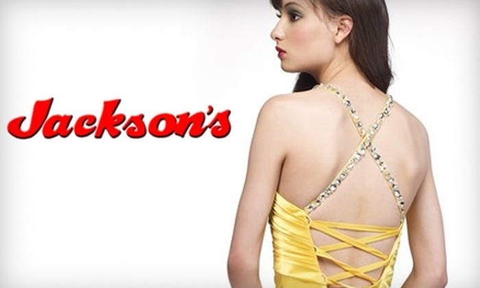 Jackson's Ladies Fashions - San Angelo: $25 for $50 Worth of Stylish Clothing, Accessories, and More at Jackson's Ladies Fashions