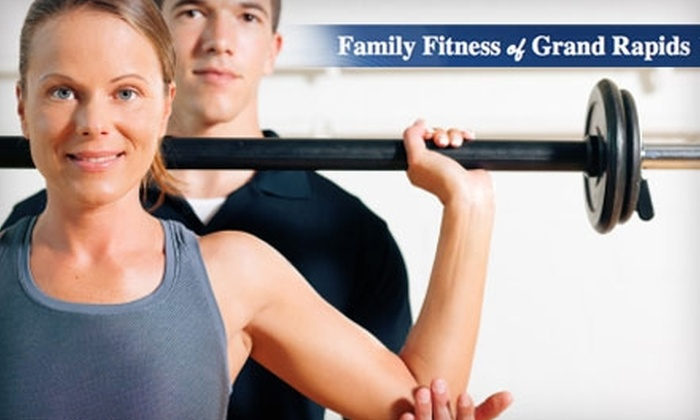 Family Fitness and FitZone for Women - Multiple Locations: $29 for a Month Membership, Two Personal-Training Sessions, and Three Small-Group Training Sessions at Family Fitness and FitZone for Women ($220 Value)